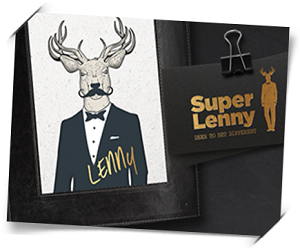 100 gratis spins hos Superlenny